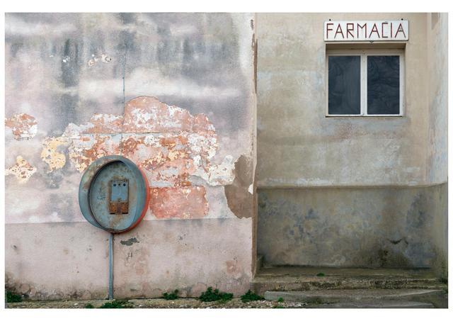 ", 'Pharmacy (Pianosa) from series ""Atlas italiae"",' 2013, MLB Home Gallery"
