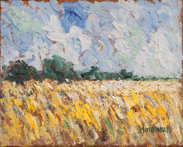 , 'Wheat Field, Lapraire, Study,' 2018, Galerie d'Orsay