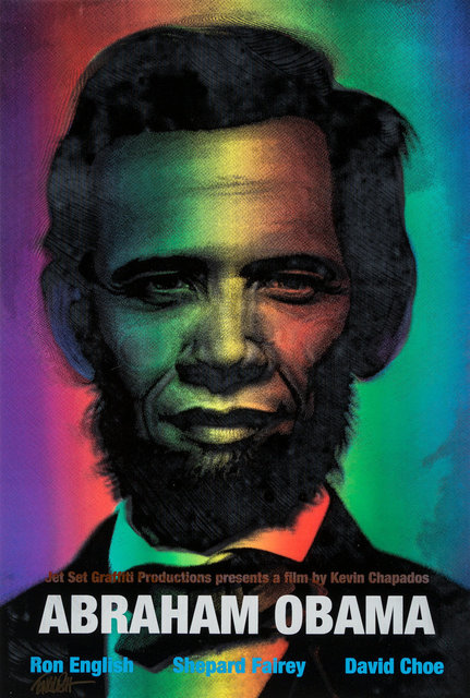 Ron English, 'Abraham Obama (Red, White, and Blue)', 2009, Heritage Auctions