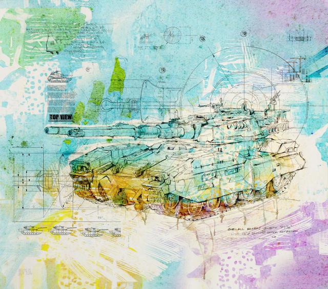 Waseem Marzouki, 'Tank,' 2014, Meem Gallery