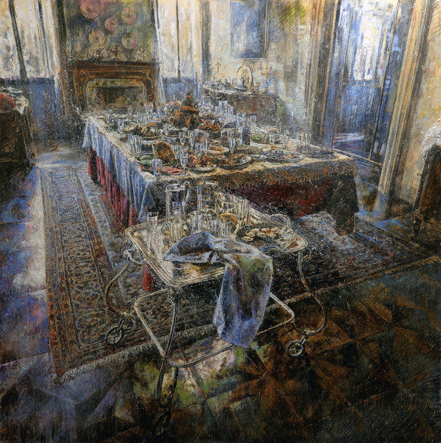 , 'Il banchetto,' 2017, Liquid art system