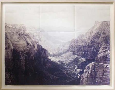 , 'Zioncanyon,' 2014, Van der Mieden Gallery