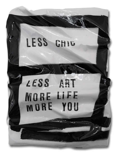 , 'NOTES C.J. (LESS CHIC),' 2017, Walter Storms Galerie
