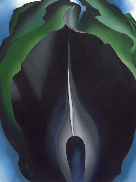 , 'Jack-in-the-Pulpit No. IV,' 1930, Norton Museum of Art