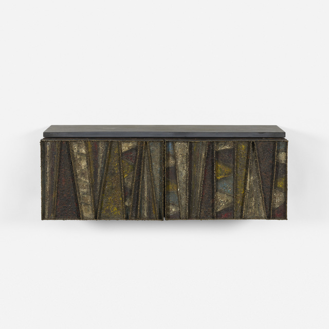 Paul Evans, 'Wall-Mounted Cabinet, Model Pe 19', c. 1970, Wright
