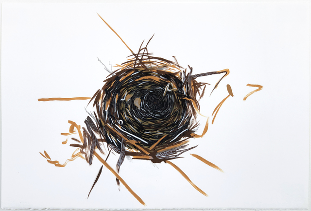 , 'Nest Study,' 2019, Open Mind Art Space