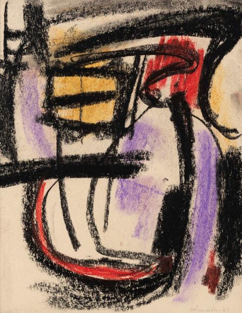 Gérard Schneider, 'Composition', 1948, Galerie A&R Fleury