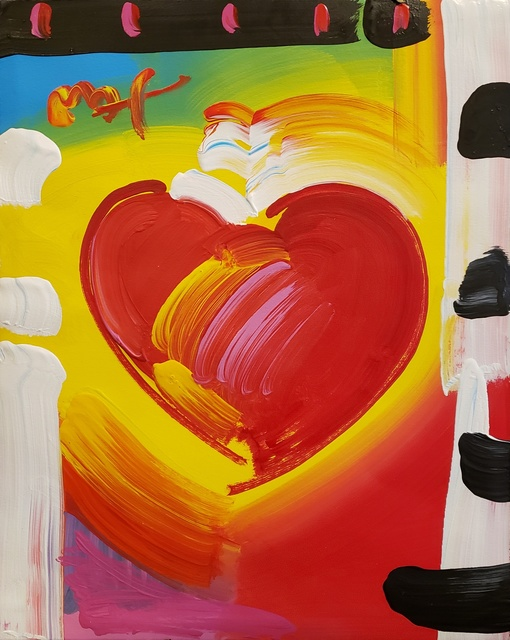 Peter Max, 'Heart', 2008, Off The Wall Gallery