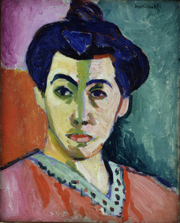 , 'Portrait of Madame Matisse. The Green Line,' 1905, Statens Museum for Kunst