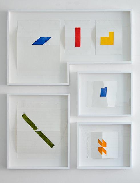 , 'Variation pour Mouvement No.5,' 2012, Galerie Roger Bellemare et Christian Lambert