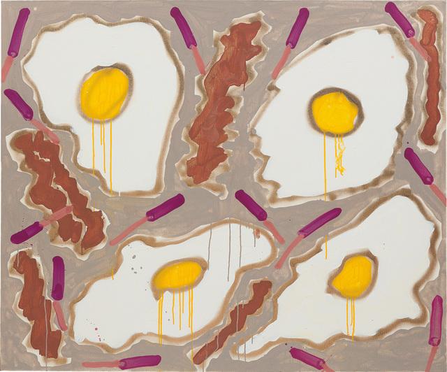 Katherine Bernhardt, 'Bacon + Eggs', 2014, Phillips