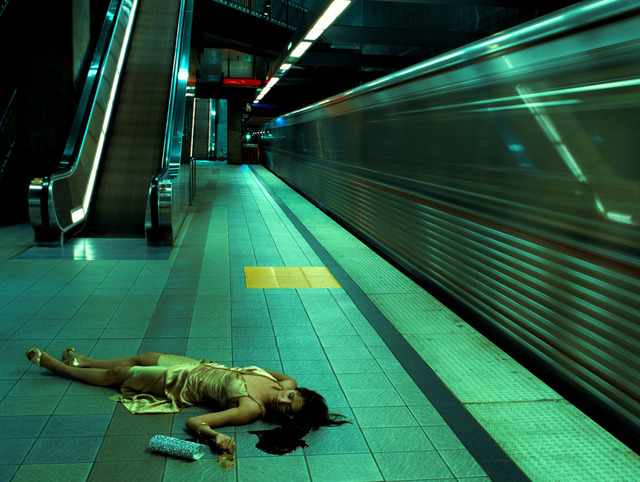 , 'Untitled (Metro Series) (From High Fashion Crime Scenes),' 2005, Jenkins Johnson Gallery