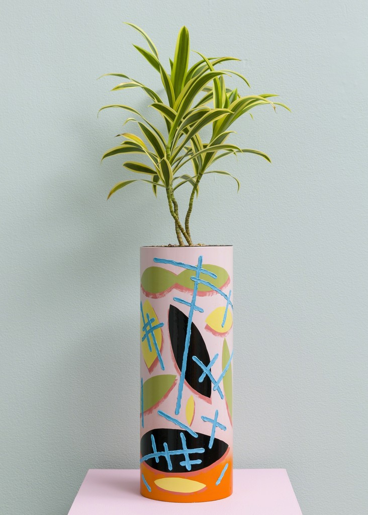 "Ben Sanders, ""Pink Tube Pot"", 2016