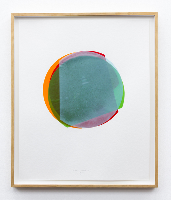 , '3/4 Kreisexzenter 3,' 2013, Galerie Gisela Clement