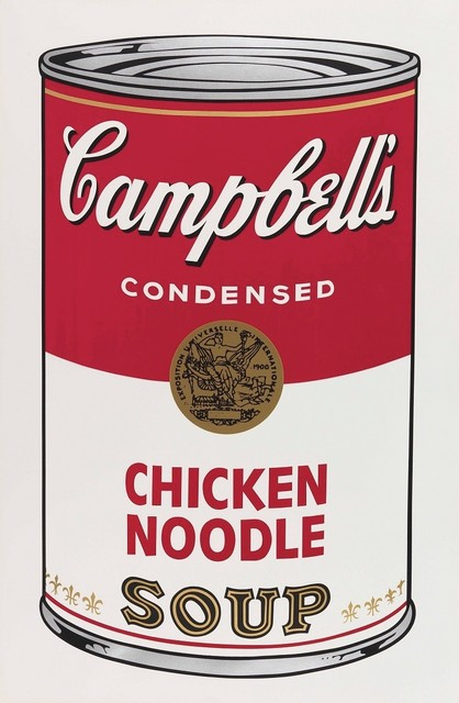 Andy Warhol, 'Campbell's Soup I: Chicken Noodle', 1968, michael lisi / contemporary art