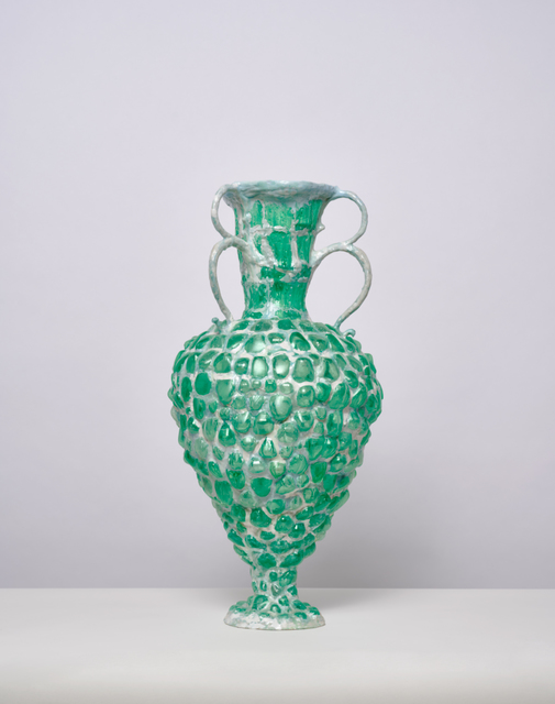 , 'Green Vessel with 3 Double Handles,' 2016, Jason Jacques Gallery