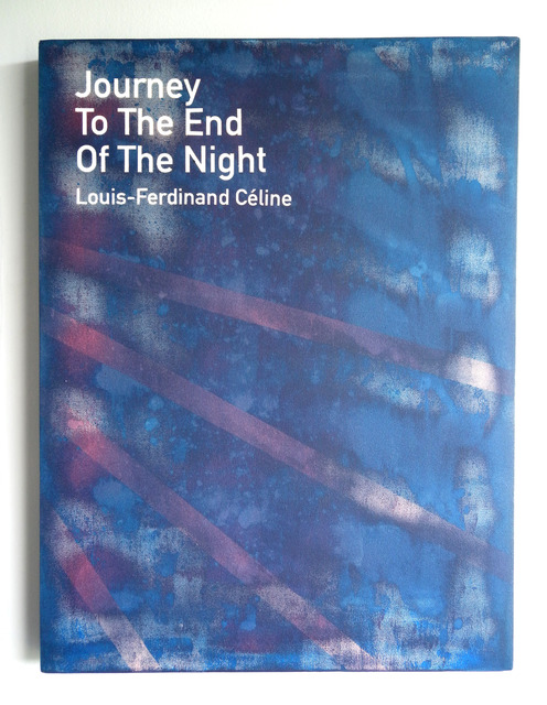 , 'Journey to the End of the Night / Louis-Ferdinand Céline,' 2013, Anna Schwartz Gallery