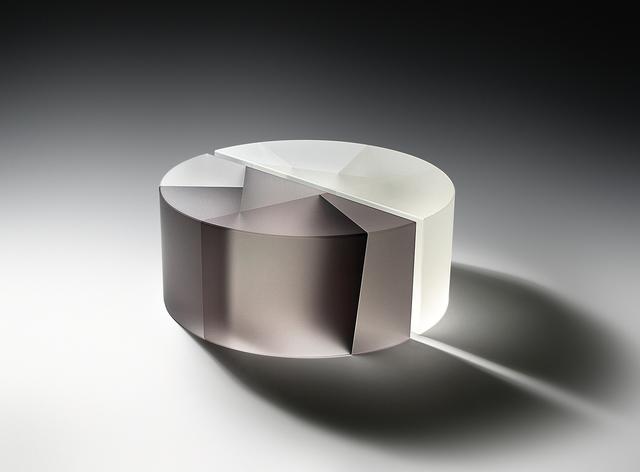 , 'Black & White Segmented Cylinder,' 2015, Duane Reed Gallery