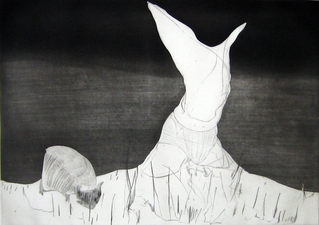 , 'Pastoral: Figure and Grazing Animal,' 2007, Diane Villani Editions