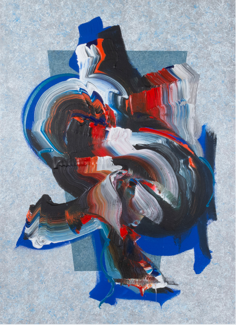 Dennis Kleidon, 'Unleashed #24', 2019, Painting, Acrylic on canvas, Walter Wickiser Gallery