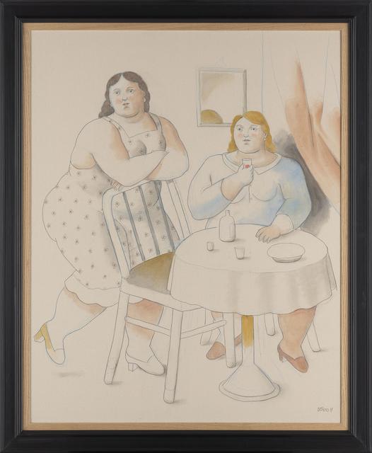 Fernando Botero, 'Two Women', 2019, Waddington Custot