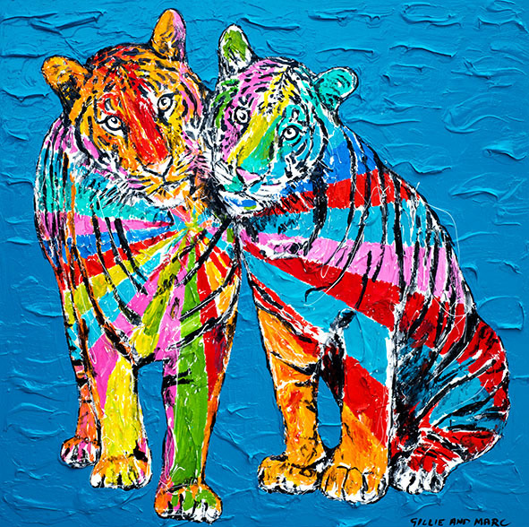 Gillie and Marc Schattner, 'They were tigers on the outside and pussycats on the inside ', 2018, Gillie and Marc Art Gallery