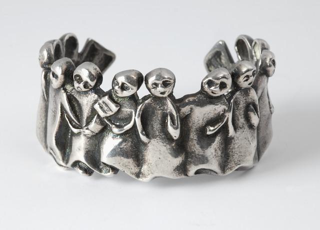 , 'La Manifestation, Cuff Bracelet,' ca. 1945, Maison Gerard