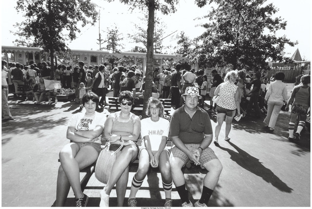 Bill Owens, 'Untitled (Family on a park bench)', circa 1978, Heritage Auctions