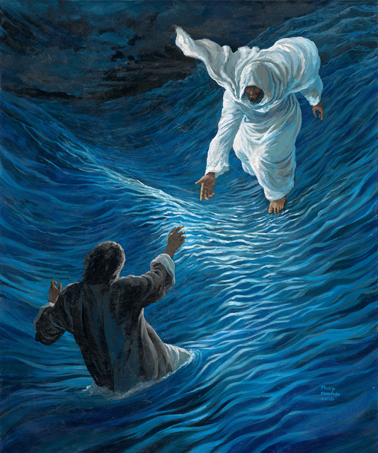 , 'PETER WALKED ON THE WATER ~ LITTLE FAITH BETTER THAN NONE,' 2016, Artrue Gallery