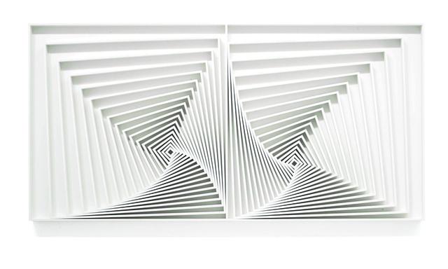 , 'Quadrados [Squares] 25,' , Casa Triângulo