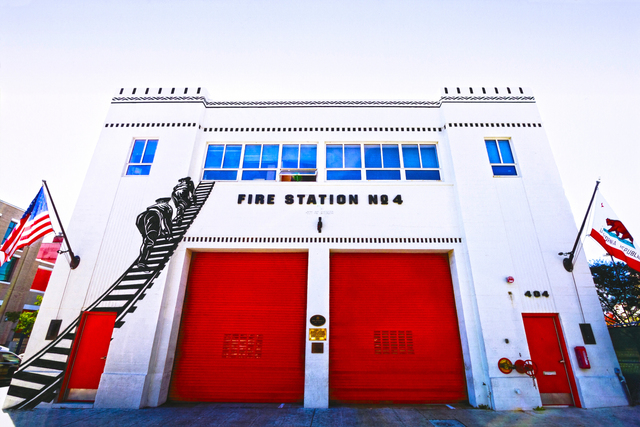 , 'Fire Station No. 4,' 2017, Flower Pepper Gallery
