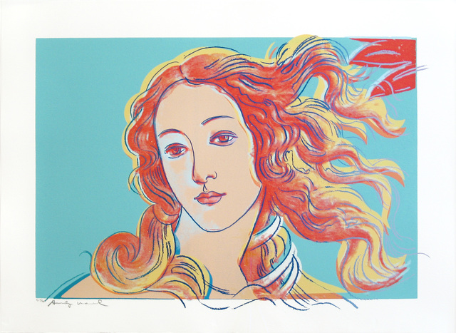 , 'Details of Renaissance Paintings (Sandro Botticelli, Birth of Venus- 1482),' 1984, Woodward Gallery