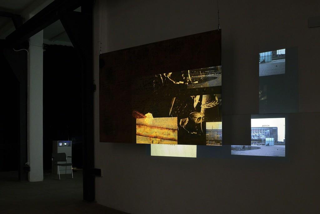 Tris Vonna-Michell, 'Register',installation view at T293 Rome, 25 October – 3 December 2016. ©Roberto Apa.