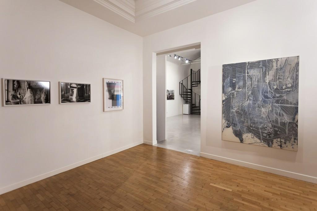 "Installation view ""Five Years"" — Milton Gendel, Luca Piovaccari, Federico Guerri"