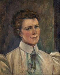 Portrait of a lady, quarter-length