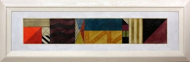 Gregg Robinson, 'Large Modernist Geometric Abstract Painting', 1990-1999, Lions Gallery