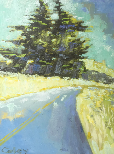 , 'Cypress Tree on Panoramic Highway #2,' , Desta Gallery