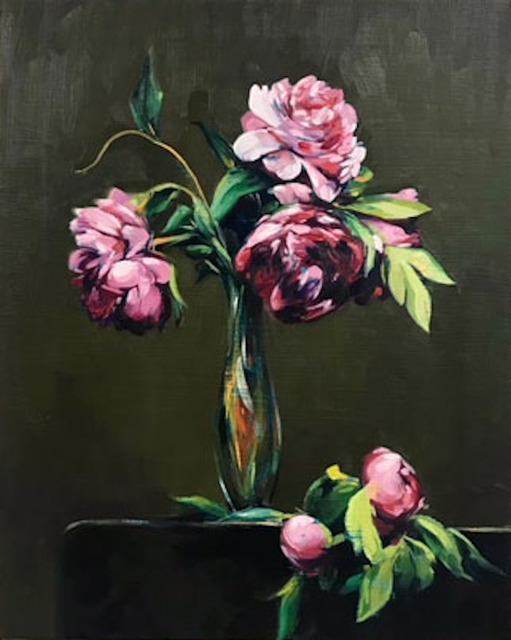Sam McKinniss, 'Peonies (after Fantin-Latour)', 2017, Team Gallery