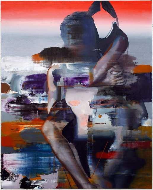 Rayk Goetze, 'Flight 1', 2021, Painting, Oil and acrylic on canvas, Josef Filipp Galerie