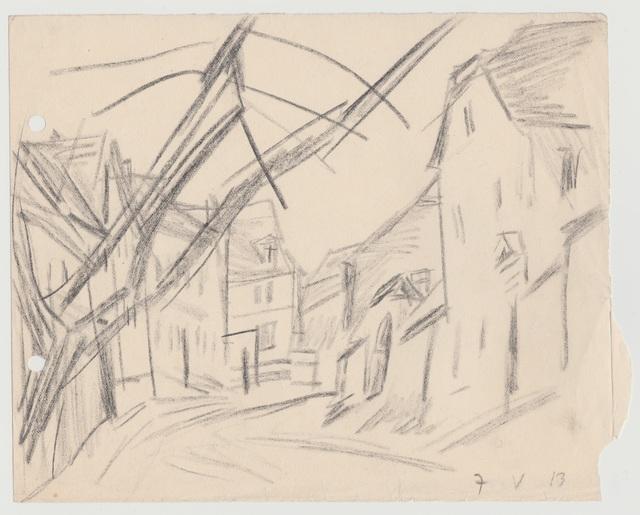 , 'Dorfstrasse,' 1913, Henze & Ketterer