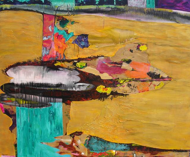 Javier David Ramos, 'Visión panorámica de un universo decante ', 2006, Painting, Acrylic on linen, Biaggi & Faure Fine Art