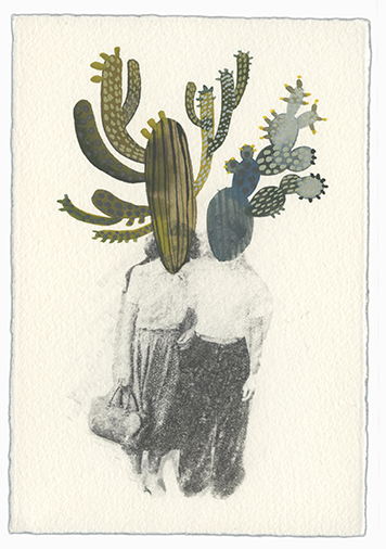 , 'Before You (Cactus People 6),' 2016, Open Mind Art Space