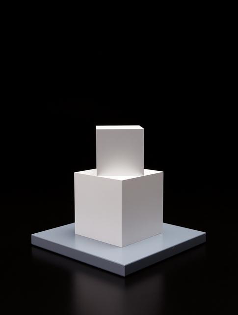 Sol LeWitt, 'Cube on a Cube', 2005, Phillips