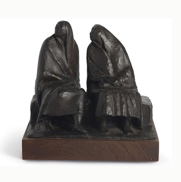 Francisco Zúñiga, 'Madre e hija sentadas', 1973, Sculpture, Bronze, Christie's