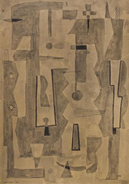, 'Composicion,' 1957, Galería de las Misiones
