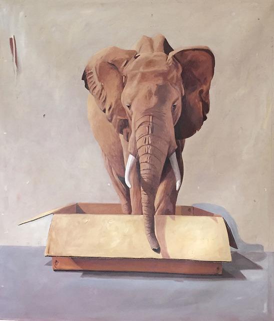 Santiago Garcia, 'Elephant #8', 2014, Painting, Oil and acrylic on canvas, CODA Gallery