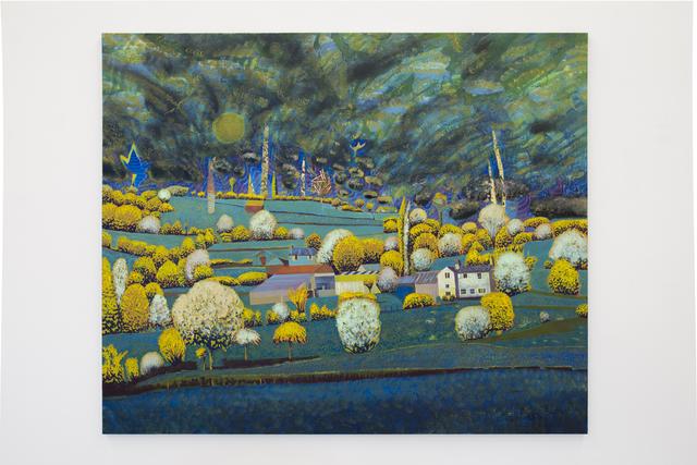 , 'Shropshire Moon,' 2016, Albert Baronian