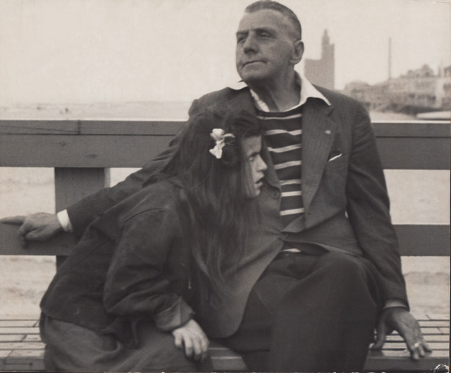Harry S. Lapow, 'Untitled (Man and Girl on Bench)', Alan Klotz Gallery