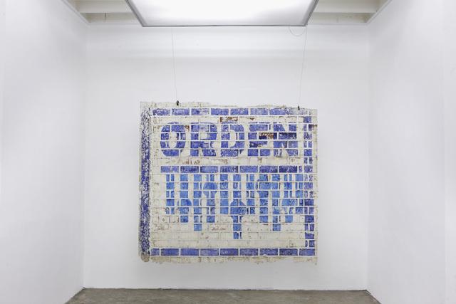 , 'Orden,' 2014, Revolver Galería