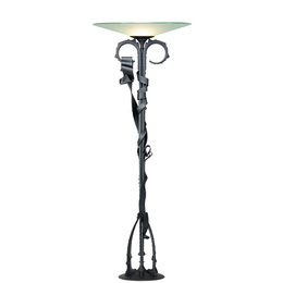 Millenium floor lamp, 30 edition of 30 (20 with blackened finish, 10 stainless), Rochester, NY